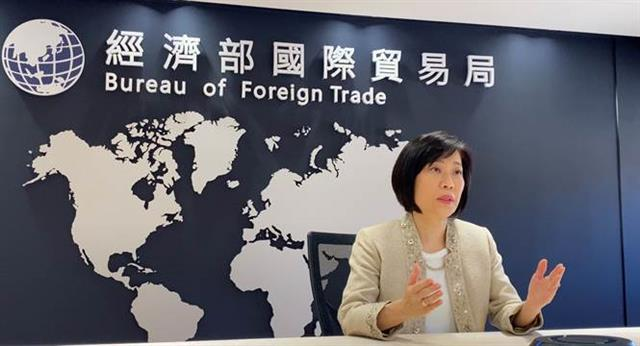 Tokyo Metropolitan Television Broadcasting Corporation interviews Director General Cynthia Kiang of the Bureau of Foreign Trade