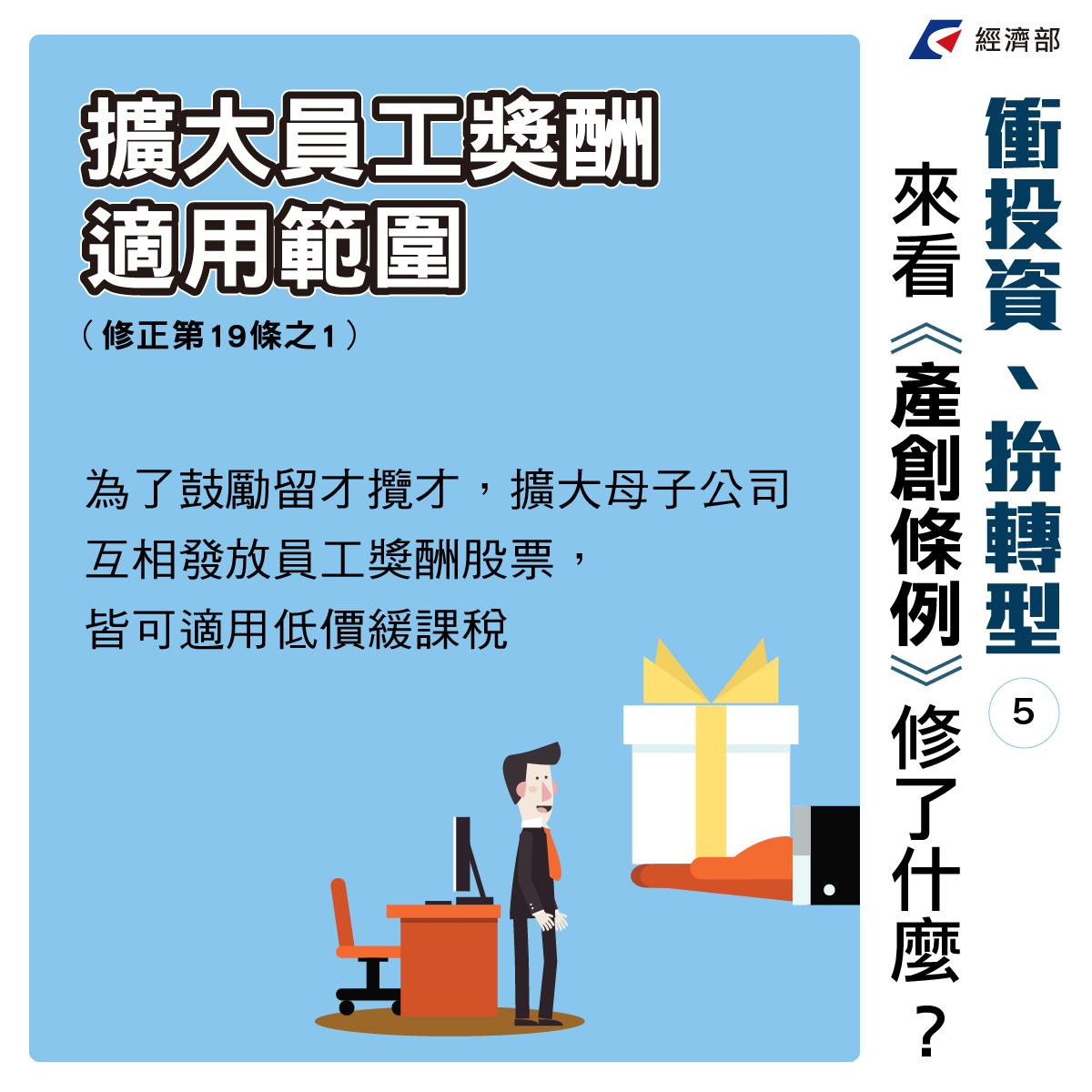 投資大爆發,台灣大賺錢 《產業創新條例》修法通過
