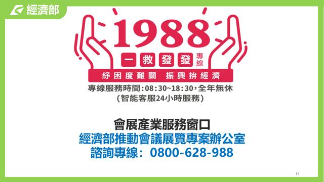 110年第3季會展產業薪資及營運資金補貼