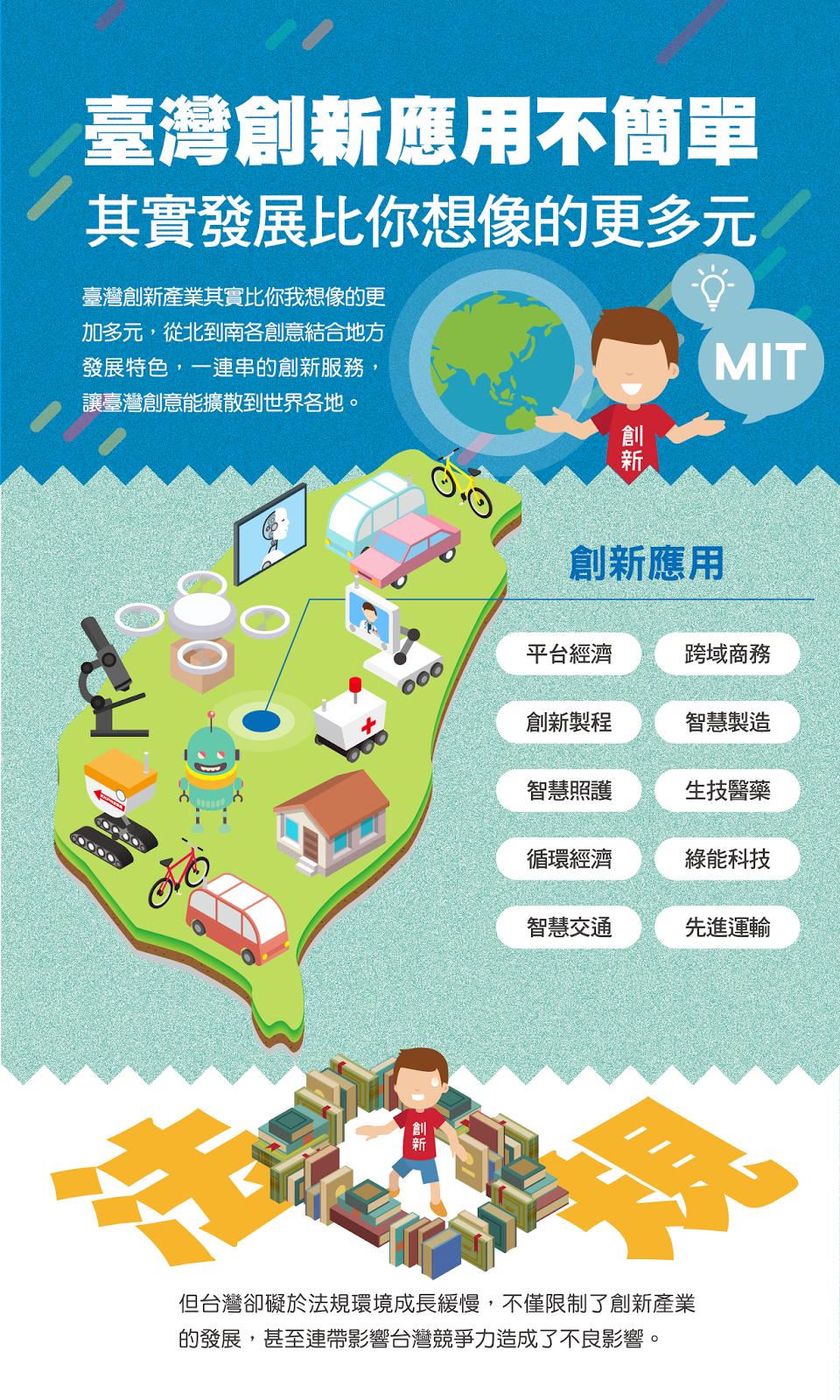 臺灣創新應用不簡單,其實發展比你想像的更多元